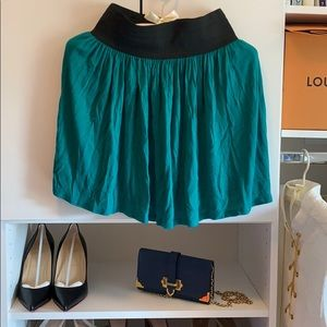 Back to School Teal Skirt